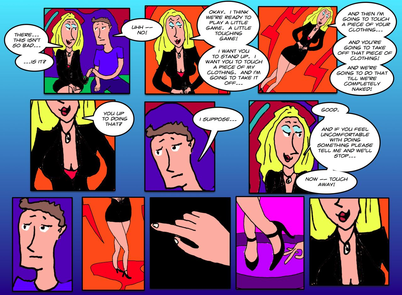 Unbridled Naked Hand Stroking Action -- Only Here on Just Wanna Do Porn Webcomics!