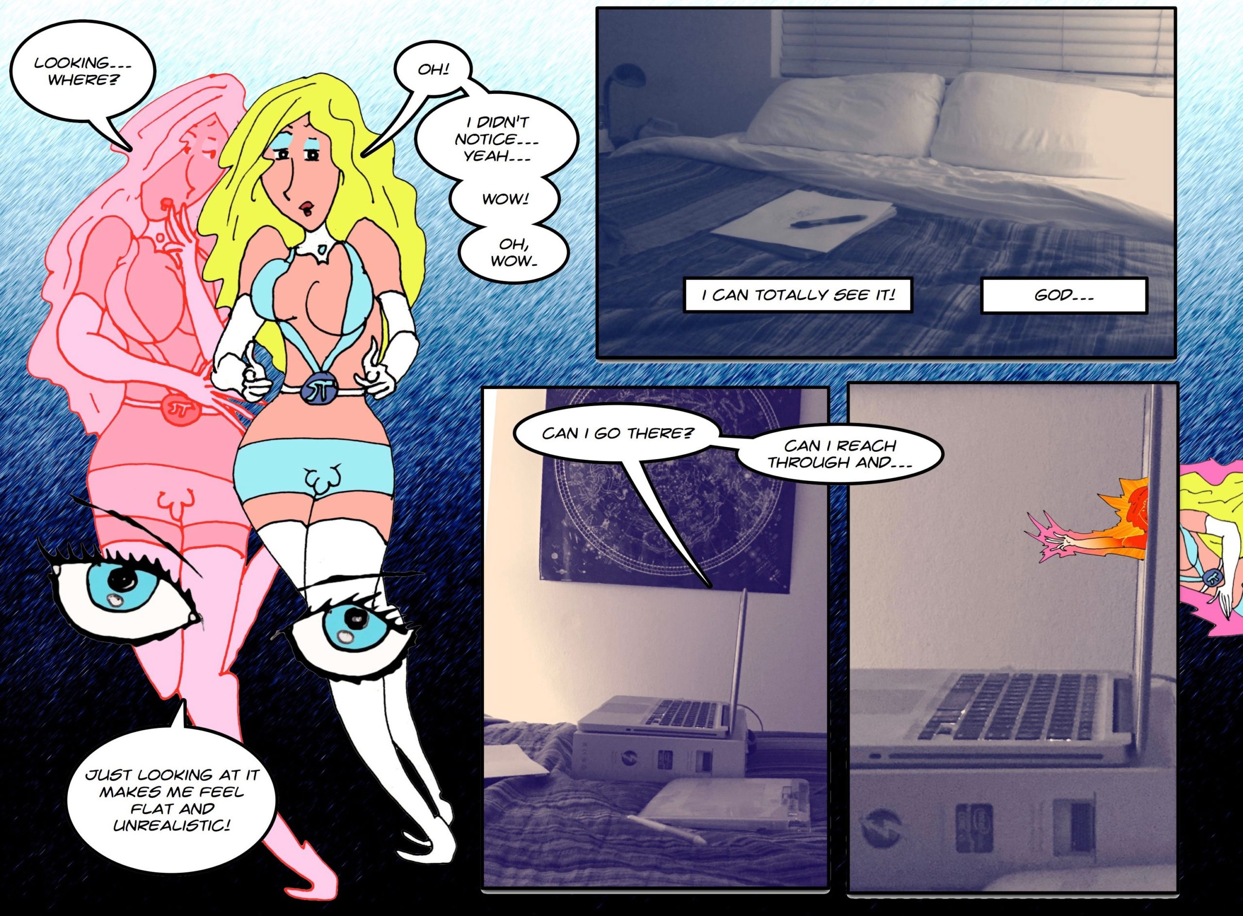 Wish I had known how easy it was to leave this strip five years ago... *grumble* *grumble*!